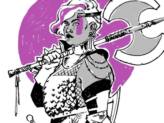 mar-del-valle-inktober-purple-warrior-dest